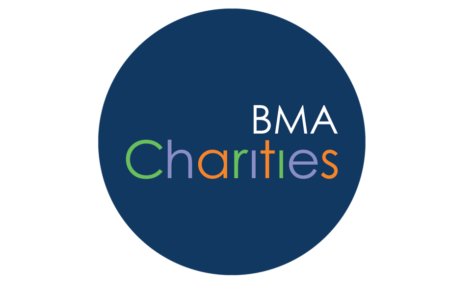 BMA charities logo