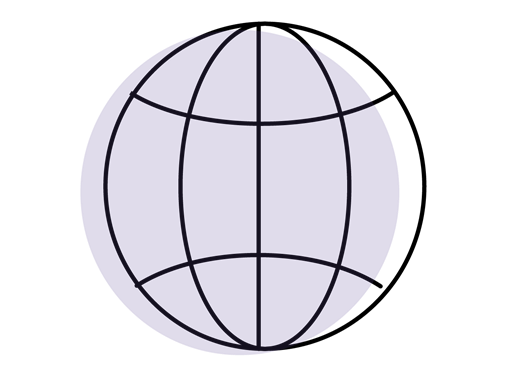 Globe symbol article illustration