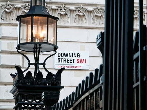Downing Street Sign 23129